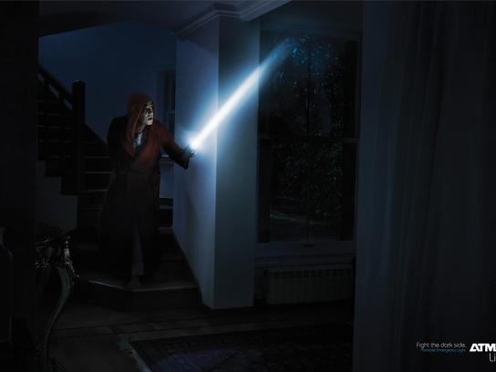 Atma Print Ad -  Fight the dark side, 2