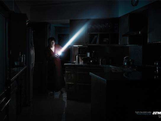 Atma Print Ad -  Fight the dark side, 3