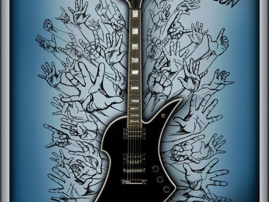 Carlino Guitars Print Ad -  Attention