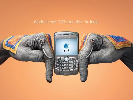 AT&T Print Ad -  India