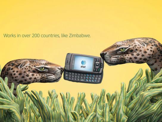 AT&T Print Ad -  Zimbabwe