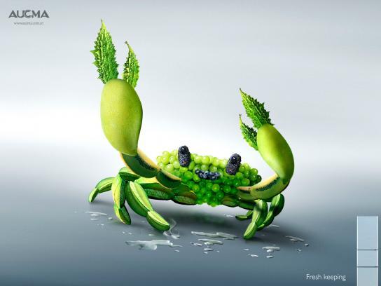 Aucma Print Ad -  Crab