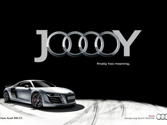 Audi Print Ad -  Jooooy, Black