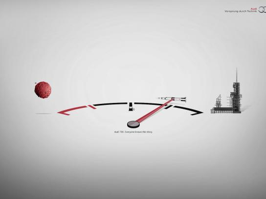 Audi Print Ad -  Apollo