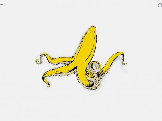 Audi Print Ad -  Banana Squid