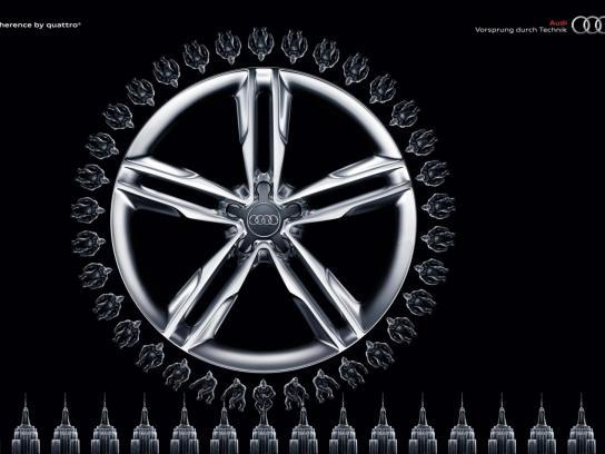 Audi Print Ad -  Monkey