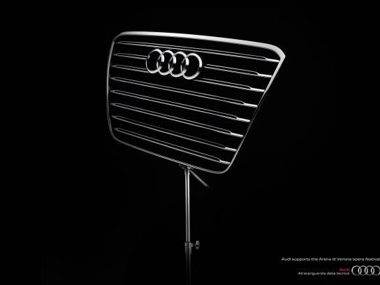 Audi Print Ad -  Support