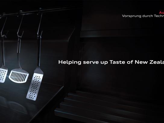 Audi Print Ad -  Taste of New Zealand Sponsorship