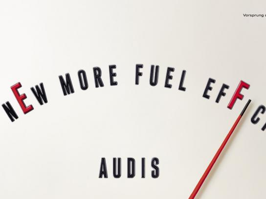 Audi Print Ad -  Fuel efficient, 1