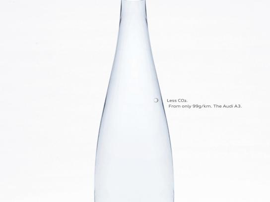 Audi Print Ad -  Bubble