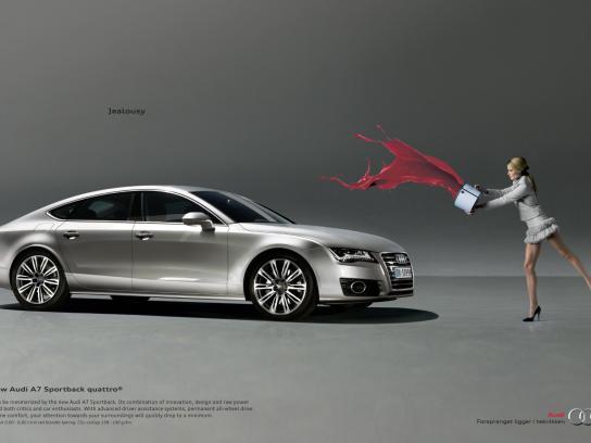Audi Print Ad -  Jealousy, Paint