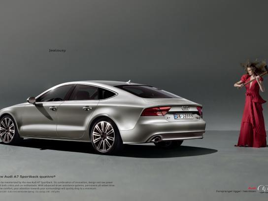 Audi Print Ad -  Jealousy, Sledgehammer