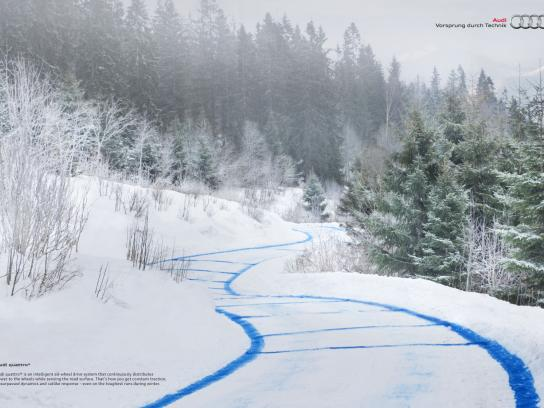 Audi Print Ad -  Alpine