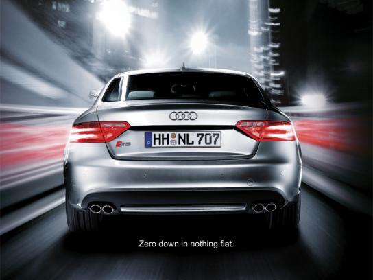 Audi Print Ad -  Flat