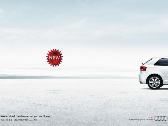 Audi Print Ad -  New