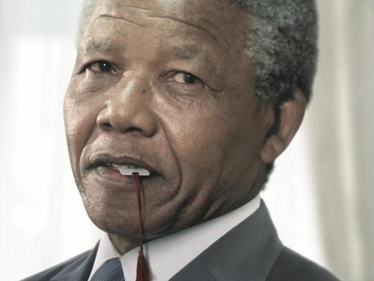 AudioBook India Print Ad -  Nelson Mandela