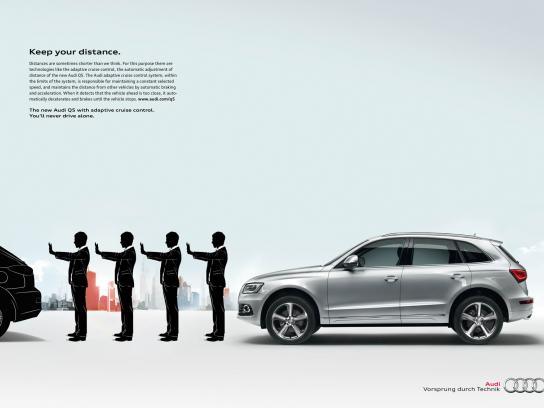Audi Print Ad -  Cruise Control