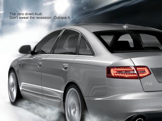 Audi Print Ad -  Recession
