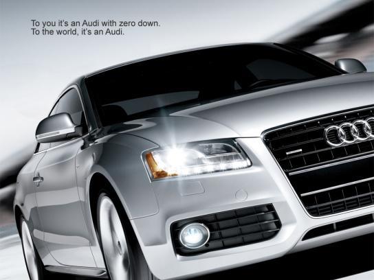 Audi Print Ad -  World