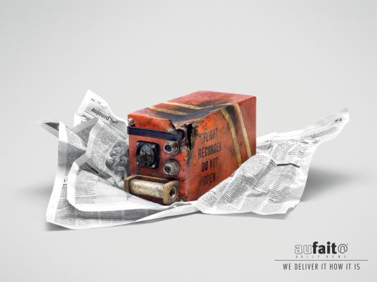 Aufait Print Ad -  Black box