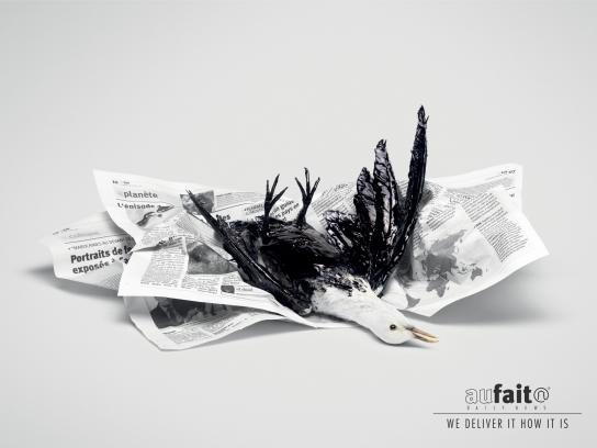 Aufait Print Ad -  Bird