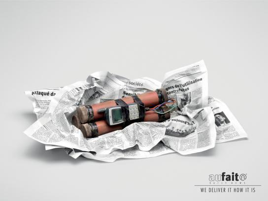 Aufait Print Ad -  Bomb