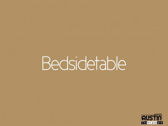 Austin Print Ad -  Bed