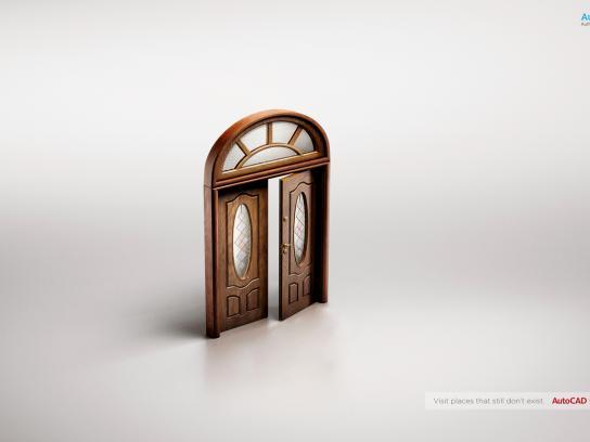 Autocad Print Ad -  Door