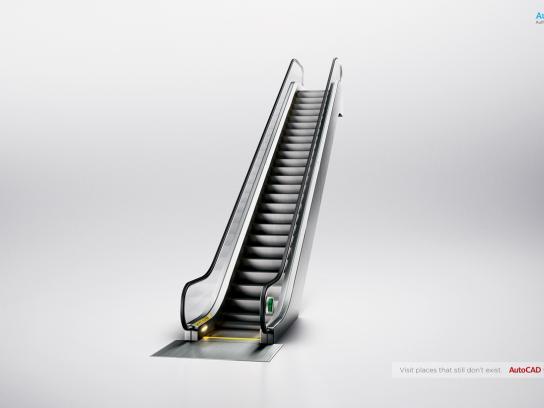 Autocad Print Ad -  Stair