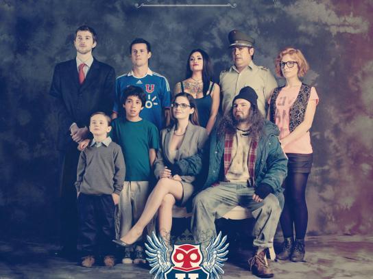 Universidad de Chile Football Club Print Ad -  One Single Family, 2