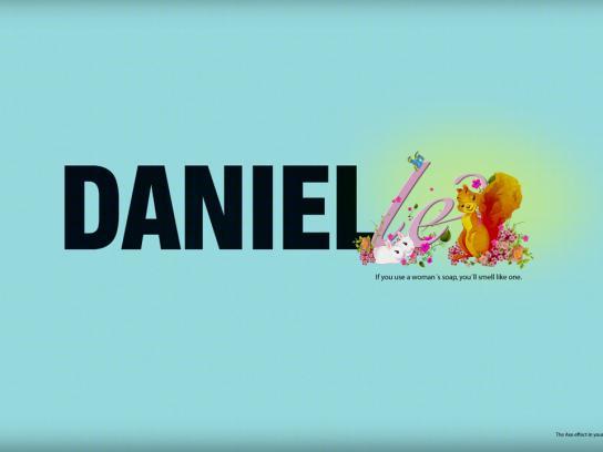 Axe Print Ad -  Danielle