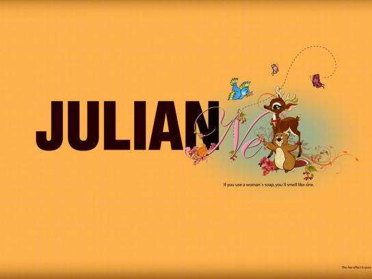 Axe Print Ad -  Julianne