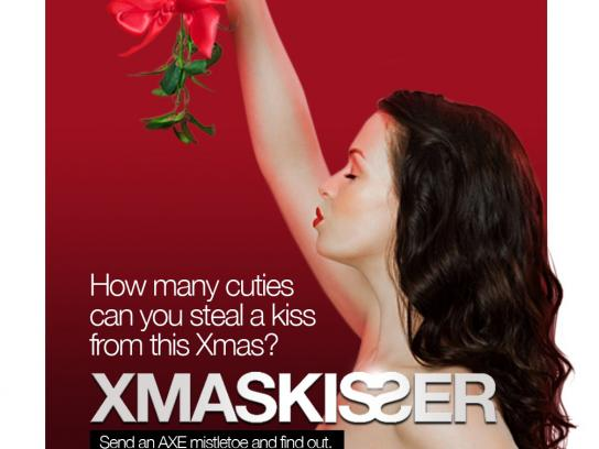 Axe Digital Ad -  Xmaskisser Facebook App