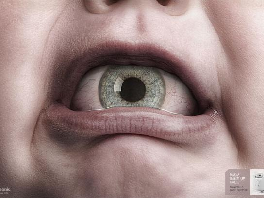 Panasonic Print Ad -  Eye