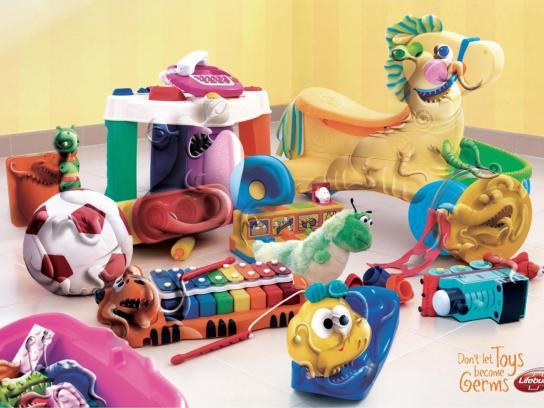 Lifebuoy Print Ad -  Baby's Room