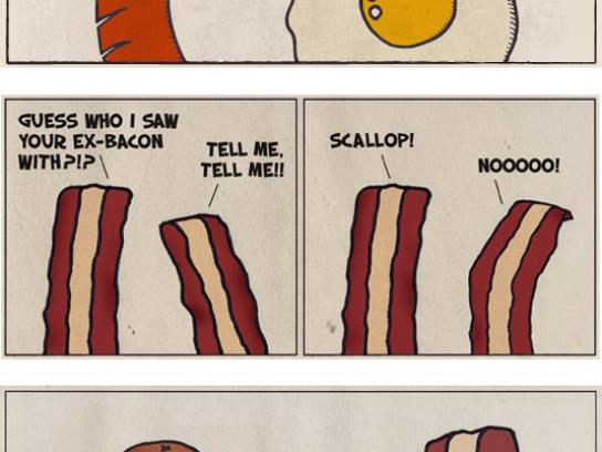 Republic of Bacon Digital Ad -  Bacon Strips