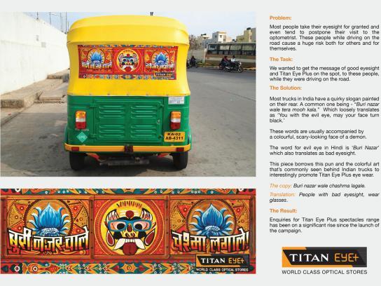 Titan Eye Plus Outdoor Ad -  Auto