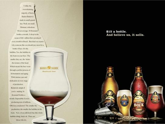 Baden Baden Print Ad -  Believe