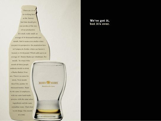 Baden Baden Print Ad -  Over