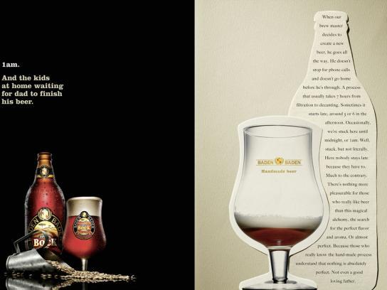 Baden Baden Print Ad -  Waiting