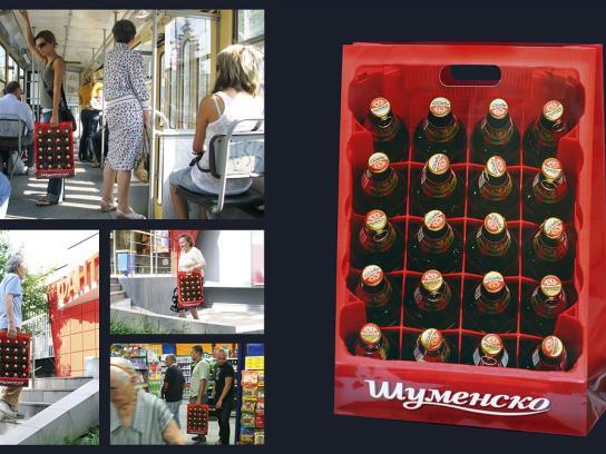 Shumensko Beer Direct Ad -  Crate bag