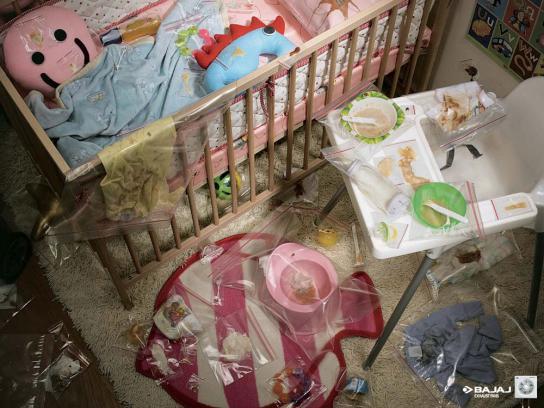 Bajaj Print Ad -  Baby stuff