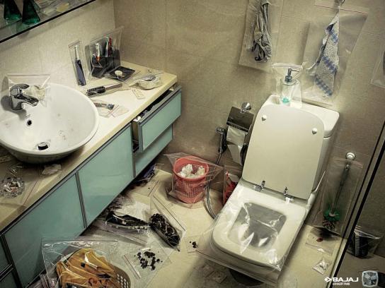 Bajaj Print Ad -  Toilet