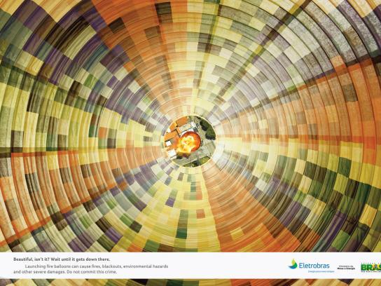 Eletrobras Print Ad -  Balloon, 2