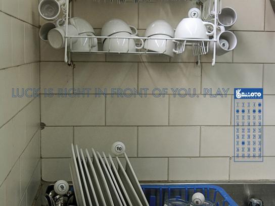 Baloto Print Ad -  Kitchen