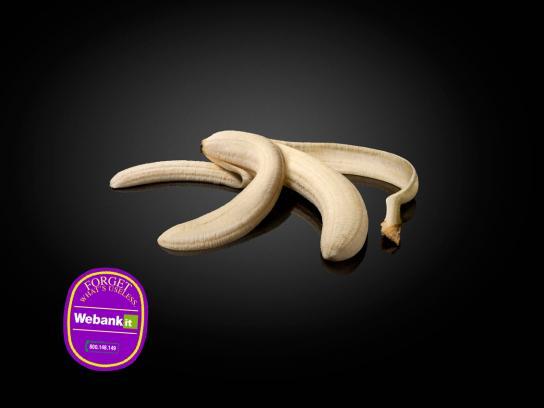 Webank Print Ad -  Banana