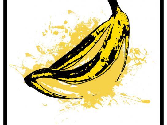 QuitoFest Print Ad -  Banana