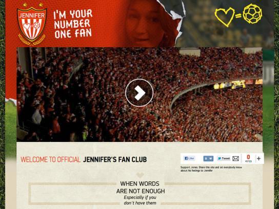 Puma Digital Ad -  I'm your number one fan