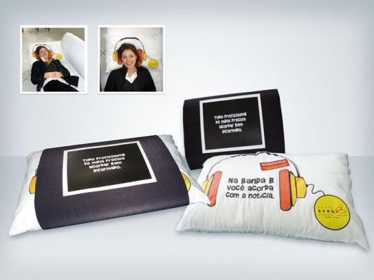 Radio Banda B Ambient Ad -  Pillow