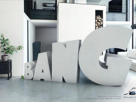 Rowenta Print Ad -  Bang